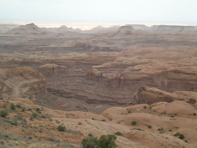 "Overlook in the ""Tar Sands Triangle"""