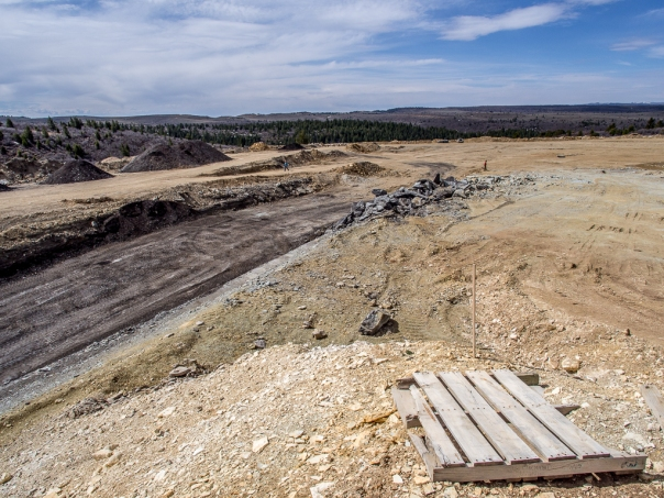 The PR Spring Tar Sands mine as of April 2014.